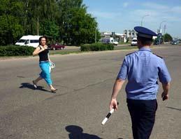 штраф за перереход улицы в неположенном месте