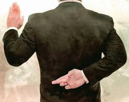 уголовное наказание за дачу ложных показаний