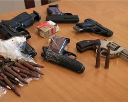 незаконное хранение оружия и боеприпасов