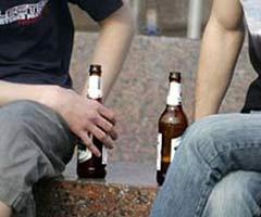 распитие спиртного в общественных местах