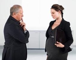 увольнение беременной женщины