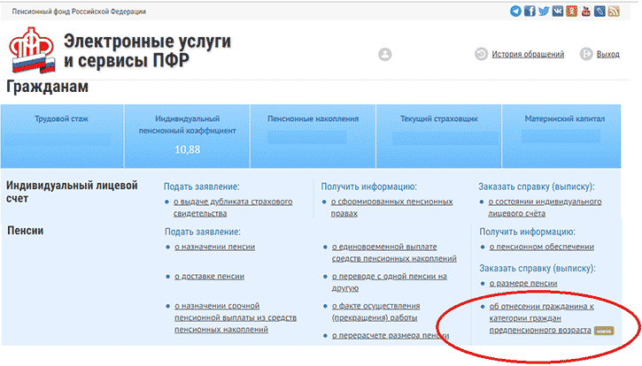 сайт ПФРФ
