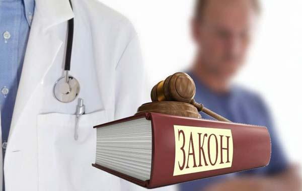 Закон, которым определяются права пациентов при получении медицинской помощи в России.